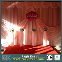 Truss Stand,Modular Exhibition Booth,Backdrop Pipeand Drape For Wedding