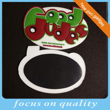 high quality micro injecion rubber customized oval shape 3d soft pvc material cute cartoon customized unique fridge magnet