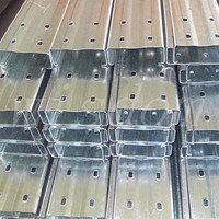 galvanized steel high hat furring channel