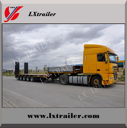 50 Ton 60 Ton Low Bed Semi Trailer/ Lowbed Semi Trailer/ Low loader Semi Trailer For Sale