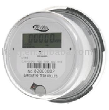 Single-phase two wire electronic LCD digital plug kilowatt hour Meters