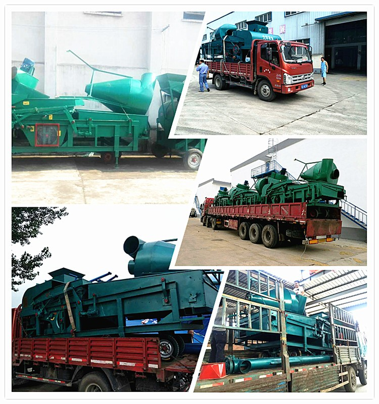The price of corn graded screening machine made in China