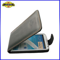 Cell Phone Case for Galaxy Note 2 N7100 ,For Samsung N7100 Leather case--Laudtec