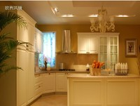 Factory Derect Modular Kitchen Remodeling Fiberglass Kitchen cabinet
