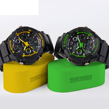 Brand Design Shock Sports digital watches analog Men military army Watch swim dive Date LED Sports Watch