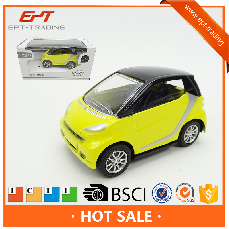 Scale pull back metal diecast models toy car for kids