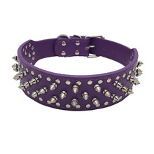 RoblionPet Newest Cheap Best Quality Spiked Pitbull Dog Collars