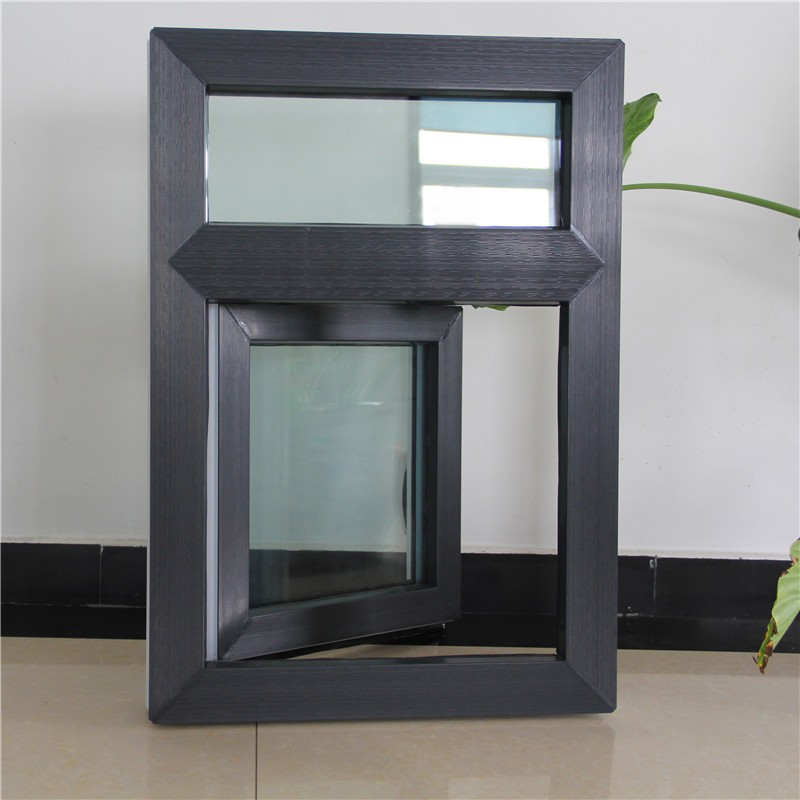 Plastic and steel frame material window and door upvc for Window material