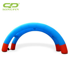 promotional outdoor trade show inflatable entrance arch for event