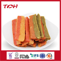 Chicken Pumpkin/Spinach Fillet Premium Dog Treats Wholesale Dog Snacks Pet Food Manufacturers