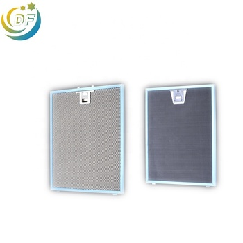Kitchen cleaning range hood aluminum mesh filter hood filters