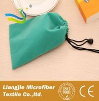 [LJ] Microfiber Mobile Phone Pouch , Micro-fiber Cleaning Music Player Pouch and game console pouches