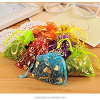 M083 wholesale custom natural essential wardrobe sachet mildew moth sachets dehumidification wedding organza bag