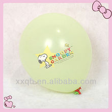 logo customized 3.2g promotion gift balloon