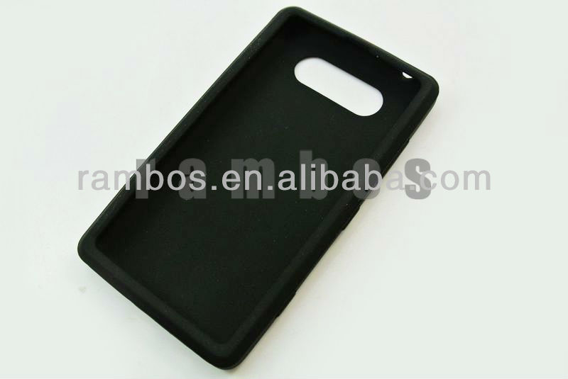Soft Silicon Gel Skin Cover Case for Nokia Lumia 820,Accessory