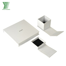 high quality custom size luxury gift paper floding jewelry packaging box