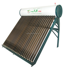 High Quality Galvanized steel Compact Non-pressurized Glass Tube Solar Hot Water Heater