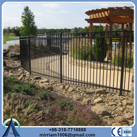 China Wholesale Merchandise used ornamental steel and aluminum fence