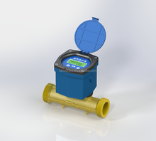 OCT TTL Pulse 4~20mA Output Digital Bulk Water Flow Meter for Agricultural Irrigation Industrial Measurement