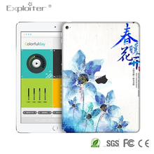 Latest style high quality self adhesive vinyl tablet sticker for apple ipad4