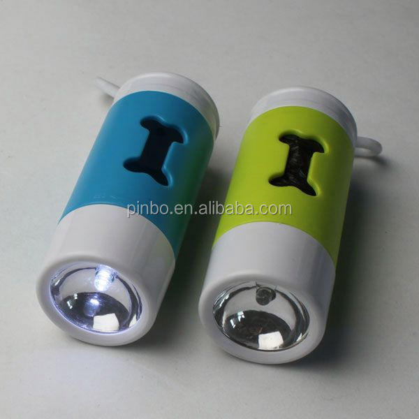 Led Hot Plastic Pet Waste Bag Dispenser