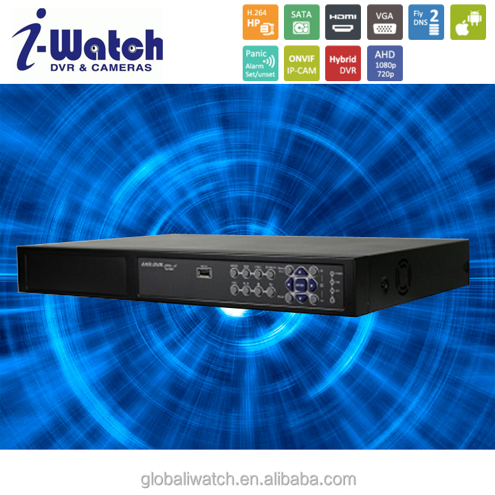 IW-1162T-A 16CH IP CAM H264 HP 80Mbps Hybrid DVR