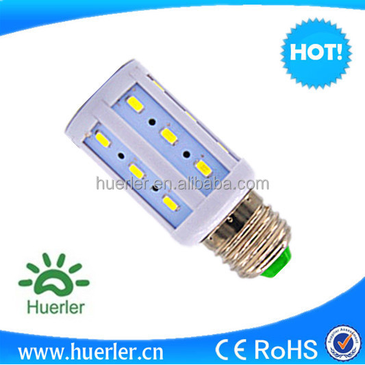 E27/E26/B22 5W 24SMD 5730 LED Energy Saving LED Corn led light bulb AC 100-240V/DC12V