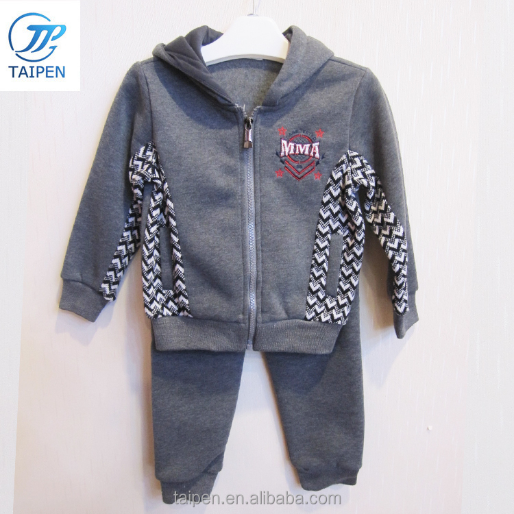 Fashion boys kids clothes child sports wear kids 2 pcs set