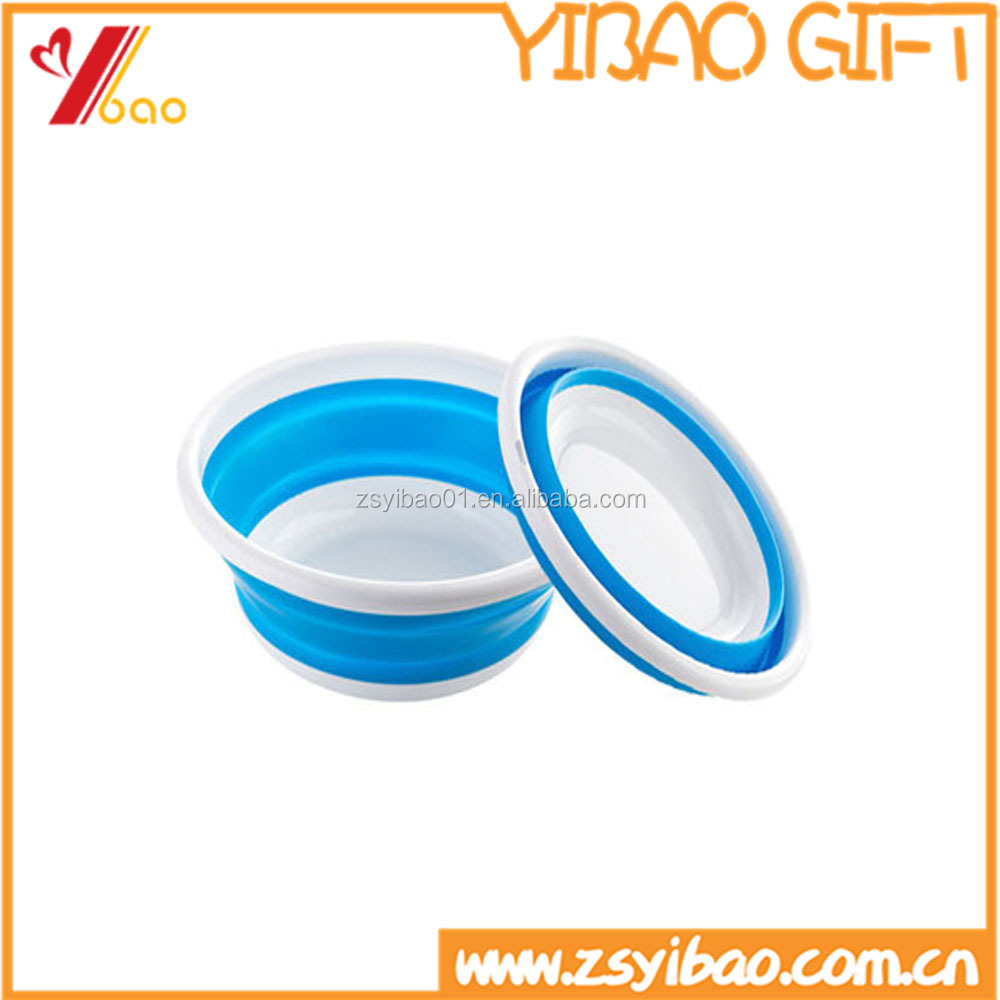 Customed Foldable Silicone Bathroom Hand Washing Basins