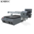BYC a1 plus large size double heads 12 color channels high speed 4 shirts in one time t shirt printer