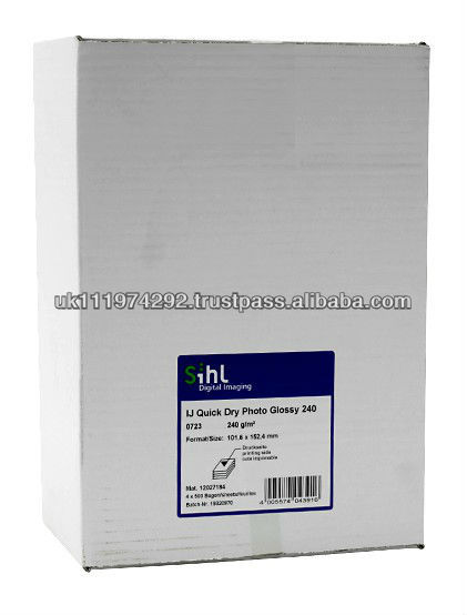 IJ Quick Dry Resin Coated Photo Glossy Paper