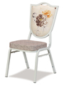 China wholesale manufacture white leather dining chair for hotle wedding event party CY-611