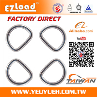 [EZ LOAD] Stamping Product Custom Wire Formed Metal Strap Ring Parts