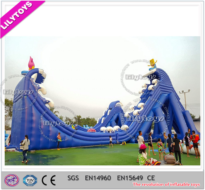 LilyToys Giant Inflatable Water Park Slide For Adult