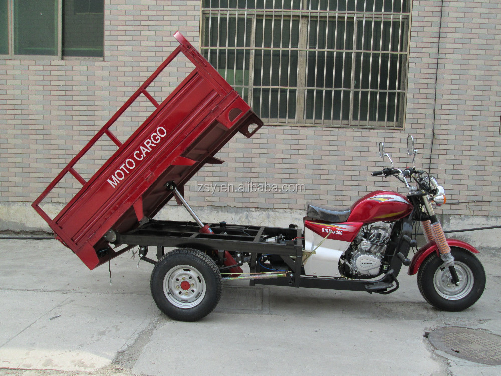 250cc powerful cargo tricycle 3 wheel motorcycle