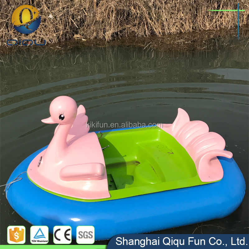 Amusement park water sport professional design battery motorized bumper boats for pool for kid & adult with remote control sale