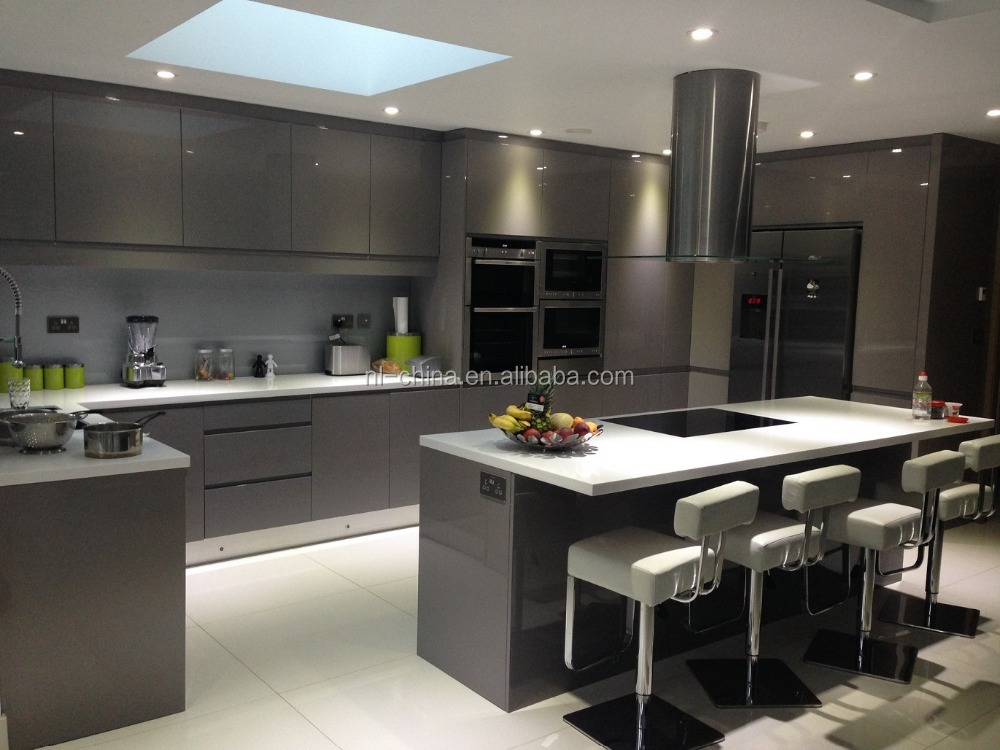 Personalizado cozinha moderna acabamento em laca alto - Armarios personalizados ...