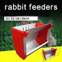 Hot sale rabbit food feeder automatic rabbit metal feeder