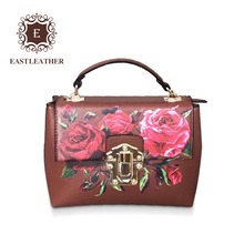 E2447 Wholesale lightweight bag fashionable handbag practical hand bags flower women bags
