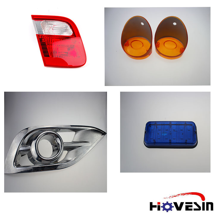China Customize Plastic injection OEM manufacturer for auto parts and Auto lamp Led car light mould