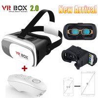 2016 Hot selling Google Cardboard Vr Box 3d Video Glasses +gamepad Controller