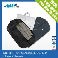 water proof non woven fabric garment suit bags for men/water proof garment