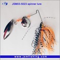 Top quality High Performance Flash Silicone Skirts Spinner Fish Baits