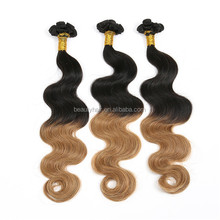 New Body Wave Brazilian Human Hair Sew In Weave, Alibaba Hair Products Top Grade 7A Virgin Hair