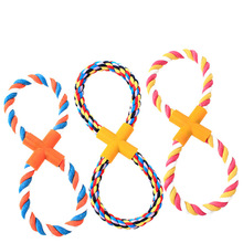 New Colorful Cotton rope outdoor dog playing activity chewing mini pet toys