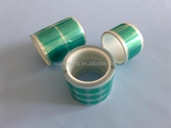 high temperature polyester discs for masking of special parts