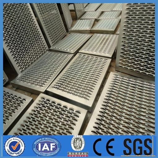 different styles perforated metal mesh antiskid plate pedal plate
