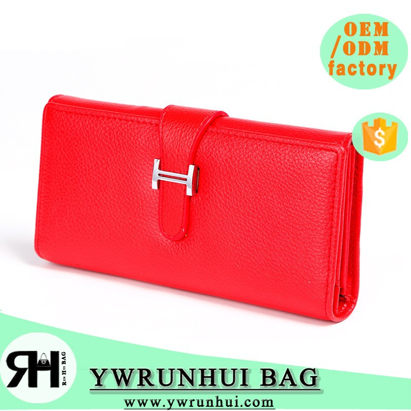 2015 hot selling new wholesale&retail good PU leather latest Belt&Hasp Design fashion women wallets/lady purse long style