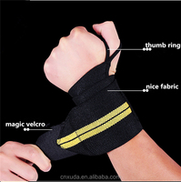 Wrist Straps Support Braces Weightlifting Wrist Wrap for Workout