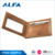 Alfa New Products On China Market India Leather Money Clip Bifold Wallets